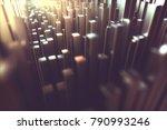 3d illustration. abstract... | Shutterstock . vector #790993246