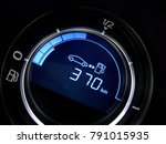 fuel economy gauge with... | Shutterstock . vector #791015935