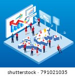 world economy and trade | Shutterstock .eps vector #791021035