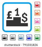 dollar pound competition icon.... | Shutterstock .eps vector #791031826