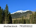 Snowcapped Mountains In The...