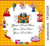 playground card | Shutterstock .eps vector #79105339