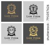 law logo legal logo law office...   Shutterstock .eps vector #791057626