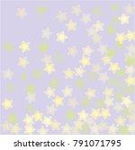 snowflake blizzard which...   Shutterstock .eps vector #791071795