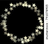 snowflake blizzard consists of...   Shutterstock .eps vector #791078905