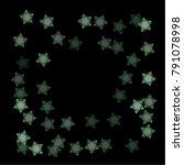 snowflake scene consists of... | Shutterstock .eps vector #791078998