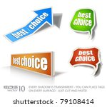 "set of ""best choice"" speech... 