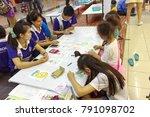 chiangmai thailand.august 12... | Shutterstock . vector #791098702