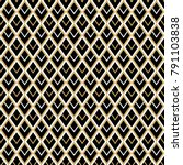 seamless geometrical pattern... | Shutterstock .eps vector #791103838