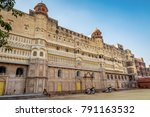 junagarh fort at bikaner ... | Shutterstock . vector #791163532