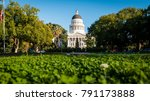 building of state capitol in... | Shutterstock . vector #791173888