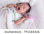 young asian baby  male infant ... | Shutterstock . vector #791183326