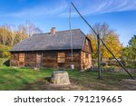 old wooden traditional house...   Shutterstock . vector #791219665