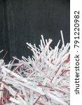 shredding document  shredding... | Shutterstock . vector #791220982