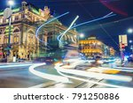 vienna 's state opera house at... | Shutterstock . vector #791250886