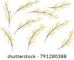 bamboo design vector   Shutterstock .eps vector #791280388