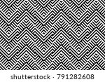 seamless pattern with striped... | Shutterstock .eps vector #791282608