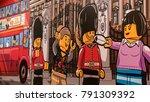london  uk   circa january ... | Shutterstock . vector #791309392