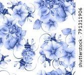 bright seamless pattern with...   Shutterstock . vector #791311906