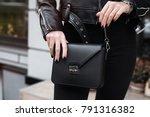 young stylish beautiful woman...   Shutterstock . vector #791316382