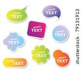 set of web frameworks for the... | Shutterstock .eps vector #79131913