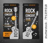 vector illustration black rock...   Shutterstock .eps vector #791359318