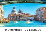 view of the grand canal in... | Shutterstock . vector #791368108