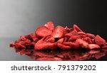 lyophilized   freeze dried... | Shutterstock . vector #791379202
