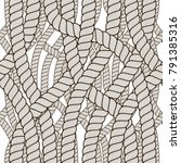 seamless pattern rope woven