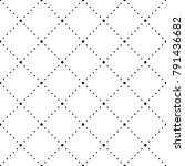 vector seamless pattern  modern ... | Shutterstock .eps vector #791436682