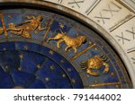 ancient time and astrology.... | Shutterstock . vector #791444002