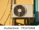 air conditioner outdoor...   Shutterstock . vector #791472868