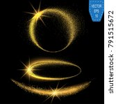 vector sparkling confetti wave. ...   Shutterstock .eps vector #791515672