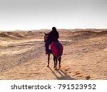 douz  tunisia  arabian knight... | Shutterstock . vector #791523952