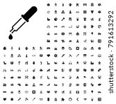 pipette icon illustration...   Shutterstock .eps vector #791613292
