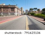 municipal theater of sao paulo... | Shutterstock . vector #791625136