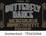 font.alphabet.script.typeface... | Shutterstock .eps vector #791626366