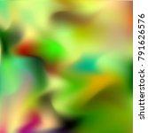 watercolor blur. abstract... | Shutterstock .eps vector #791626576
