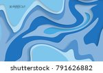 abstract banner template with... | Shutterstock .eps vector #791626882