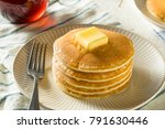 sweet homemade stack of... | Shutterstock . vector #791630446