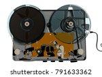 recording apparatus 3d rendering | Shutterstock . vector #791633362