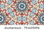 vector seamless pattern with... | Shutterstock .eps vector #791635096