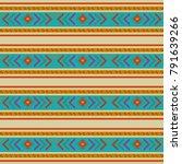 maya culture background  | Shutterstock .eps vector #791639266