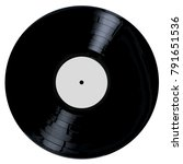 a typical lp vinyl record all... | Shutterstock .eps vector #791651536
