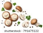 Fresh Champignon Mushrooms...