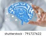 medi interface 3d | Shutterstock . vector #791727622