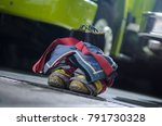 firefighter's boots and... | Shutterstock . vector #791730328