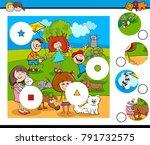 cartoon illustration of... | Shutterstock .eps vector #791732575
