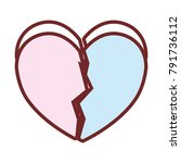 hearts and love icons | Shutterstock .eps vector #791736112