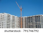 multistorey housing under... | Shutterstock . vector #791746792